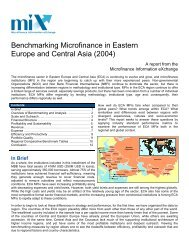 2004 Eastern Europe Central Asia Microfinance Analysis and ...