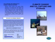 Climate change and CO - Expert Group on Clean Fossil Energy