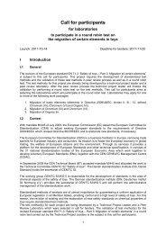 Mustertext für Call for tender - NASG - DIN Deutsches Institut für ...