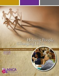 Helping People. Changing Lives. - Missouri Association for ...