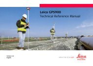 Leica GPS900 Technical Reference Manual - SERTOPO.net