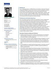 My Resume - The Institute of Internal Auditors