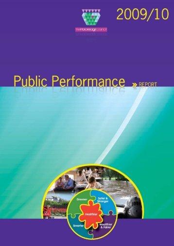 Public Performance Report 2009-2010 - Moray Community Planning ...