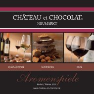 toskana - château et chocolat