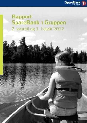 Last ned kvartalsrapporten her – 2. kvartal 2012 ... - SpareBank 1