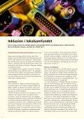 InKLUSIOn I LOKALSAMfUnDet Metoder til ... - Socialstyrelsen - Page 4