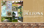Deltona Urban Design Master Plan 08/26/2008 - City of Deltona ...