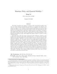 Monetary Policy and Financial Stability ! - WebMeets.com