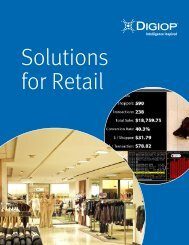 Solutions for Retail Brochure - Digiop