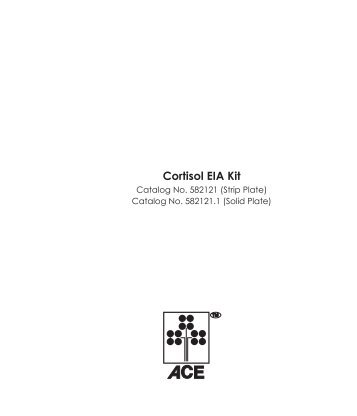 Cortisol EIA Kit - Cayman Chemical