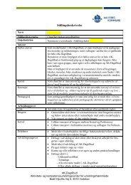 Side 2 papir, gammel udgave - AK Dagtilbud