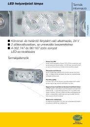 LED helyzetjelző tájékoztató - hella.shop.hu