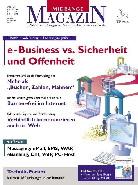 e-Business vs. Sicherheit - Midrange Magazin