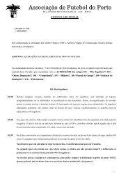 circular nº.136 - alterações regulamentos provas oficiais