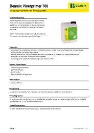Productinfo - BPG Bouwhof Groothandel