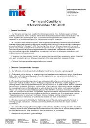 Download T&C (PDF) - mk Technology Group
