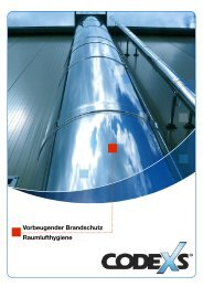Broschüre Vorbeugender Brandschutz und ... - Codexs GmbH