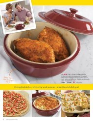Stoneware - The Pampered Chef