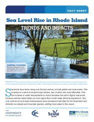 Sea Level Rise in Rhode Island: Trends and Impacts