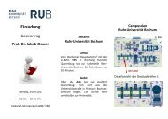 Prof. Dr. Jakob Ossner - Professional School of Education - Ruhr ...