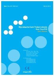 Mycobacterium Tuberculosis - Diagenode Diagnostics