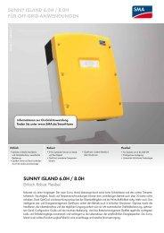 SMA Sunny Island 6.0 H-11 - Enerix