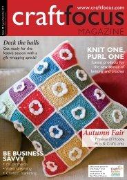PDF: High-resolution (28Mb) - Craft Focus Magazine