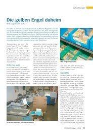 Die gelben Engel daheim - Müller Apparatebau GmbH