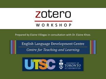 How to Register for a Zotero Account