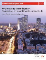 New routes to the Middle East - management thinking - Economist ...