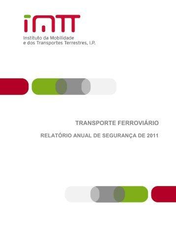 Relatório Anual de Segurança - 2011 - Imtt