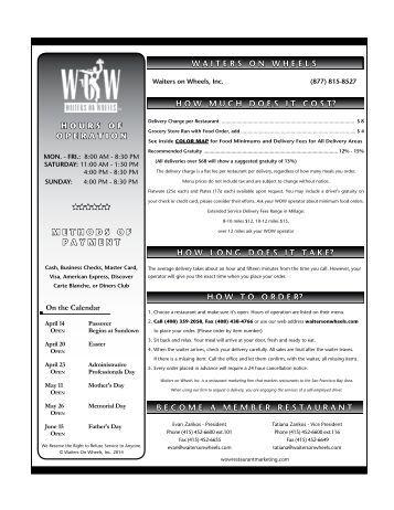 Directory – Indian - Waiters On Wheels® Restaurant Magazine