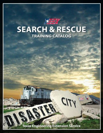 SeARCh & ReSCue - TEEX - Texas Engineering Extension Service ...