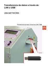 Transferencia de datos a través de LAN o USB ... -  Jakob Müller AG