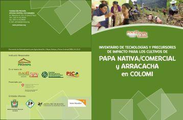 Inventario de tecnologias y precursores de impacto para los cultivos ...