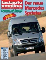 Der neue Mercedes Sprinter Der neue Mercedes Sprinter