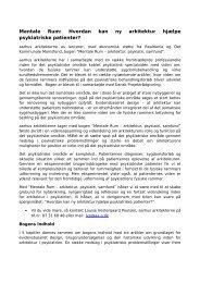 vedlagte pdf-fil - Dansk Psykiatrisk Selskab