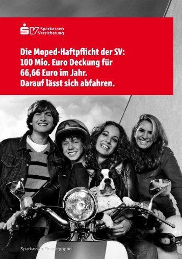 Die Moped-Haftpflicht der SV: 100 Mio. Euro Deckung für 66,66 ...