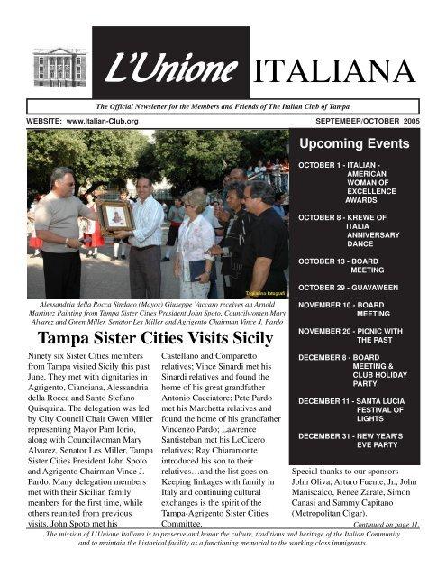 Download The Italian Club Of Tampa