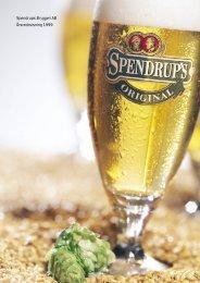 Spendrups Bryggeri AB Årsredovisning 1999