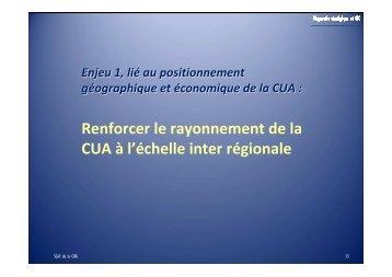 Renforcer le rayonnement de la CUA - Alençon