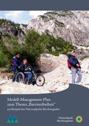 """Modell-Management-Plan zum Thema """"Barrierefreiheit"""""""