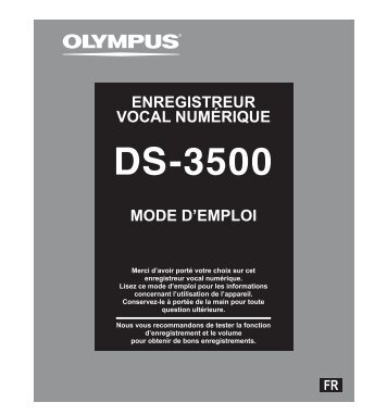 Télécharger - Olympus - Europe