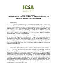icsa position paper - Transport & Environment