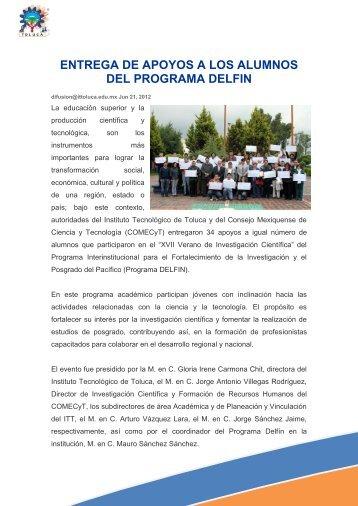 Leer más - Instituto Tecnológico de Toluca
