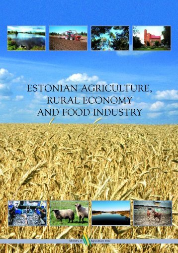 estonian agriculture, rural economy and food industry