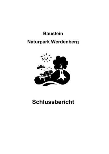 Schlussbericht Regionaler Naturpark - Region Werdenberg