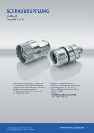 Schraubkupplung - Ernst Wagener Hydraulikteile GmbH