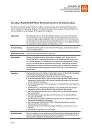 Grundkurs RASCHELINA RD3.8 ... - Jakob Müller AG