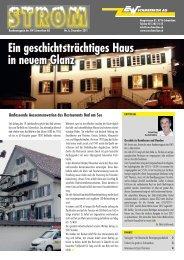 Strommagazin 2/2011 - ewschmerikon.ch